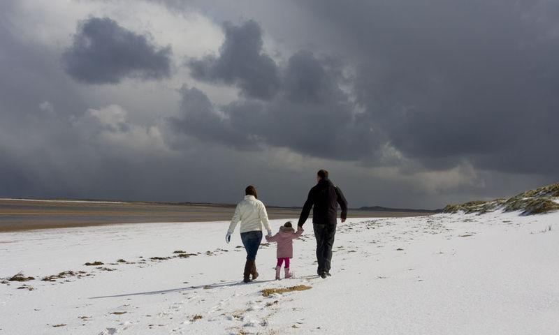 Snow-beach